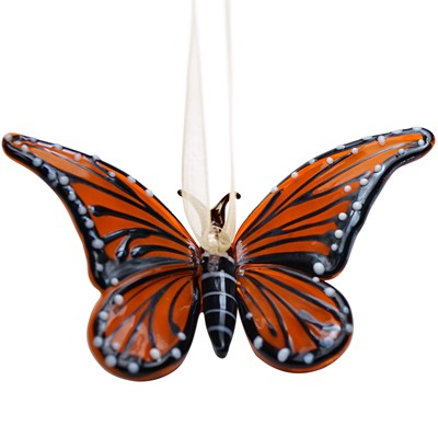 Glassdelights Ornament Monarch Butterfly